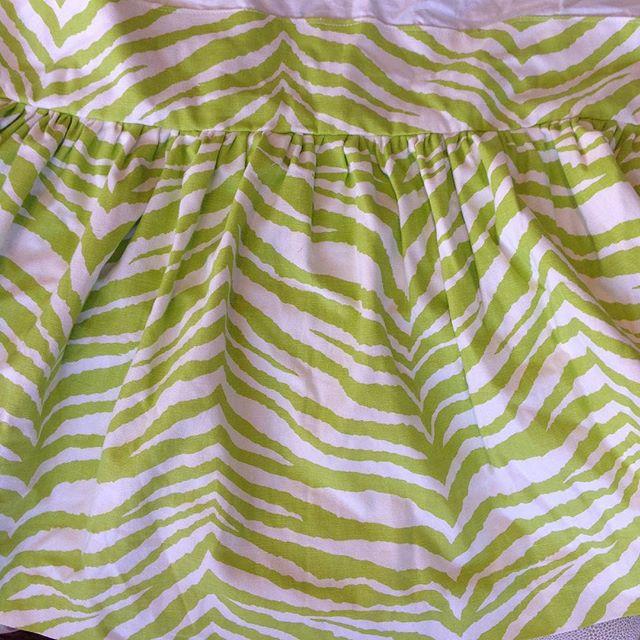 "Pair of Beautiful Twin Custom Bedskirt $100 each. 14.5"" drop #crestlineexchangecompany #beautifulaccent #shoplocal"