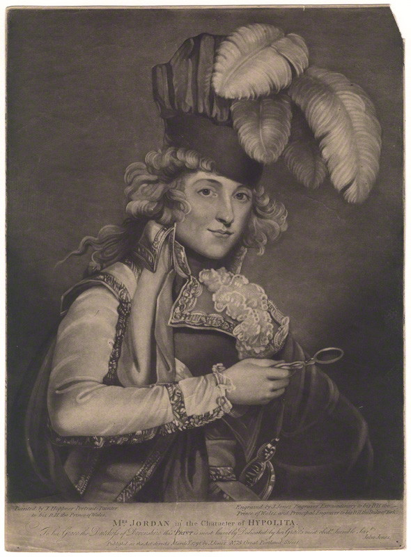 Dora Jordan. Credit: National Portrait Gallery London