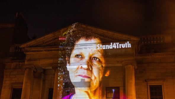 Christine Buckley on St Mary's Pro Cathedral #StandForTruth