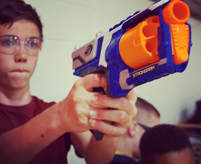 NERF WARS TOMORROW NIGHT!!! 7-9 pm at @grotonbiblechapel  ALL MIDDLE SCHOOL AND HIGH SCHOOL INVITED!!! #gbcym