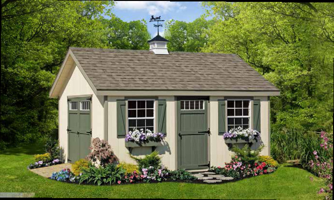 Beautiful Homestead Garden Sheds