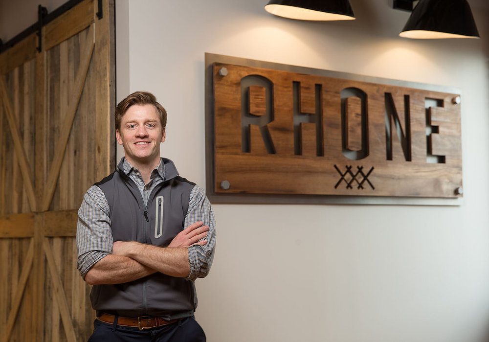 Nate Checketts Co-Founder, CEO Rhone