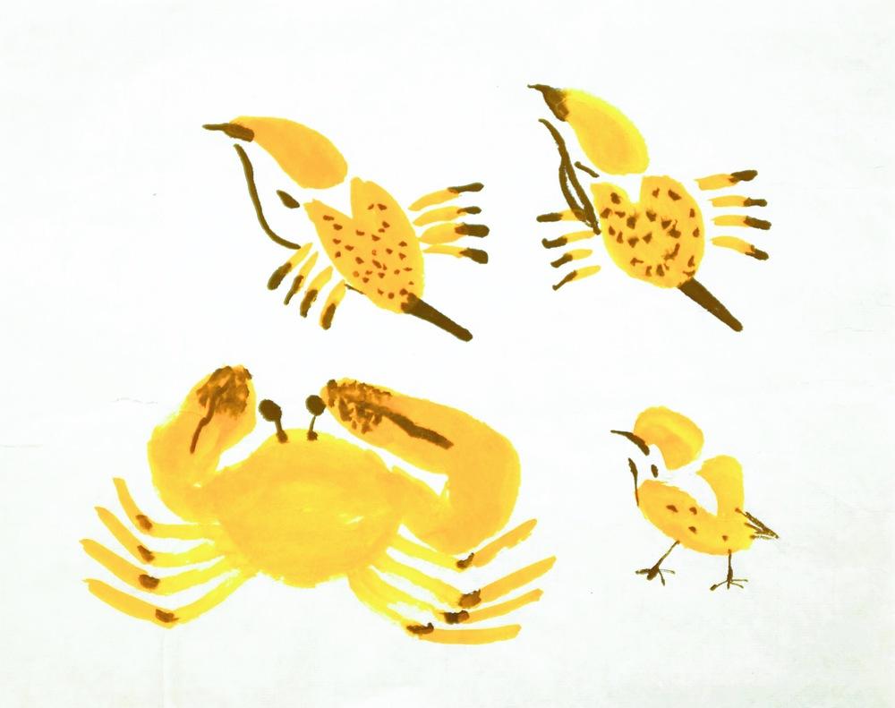 Crab+sparrow=? 1998