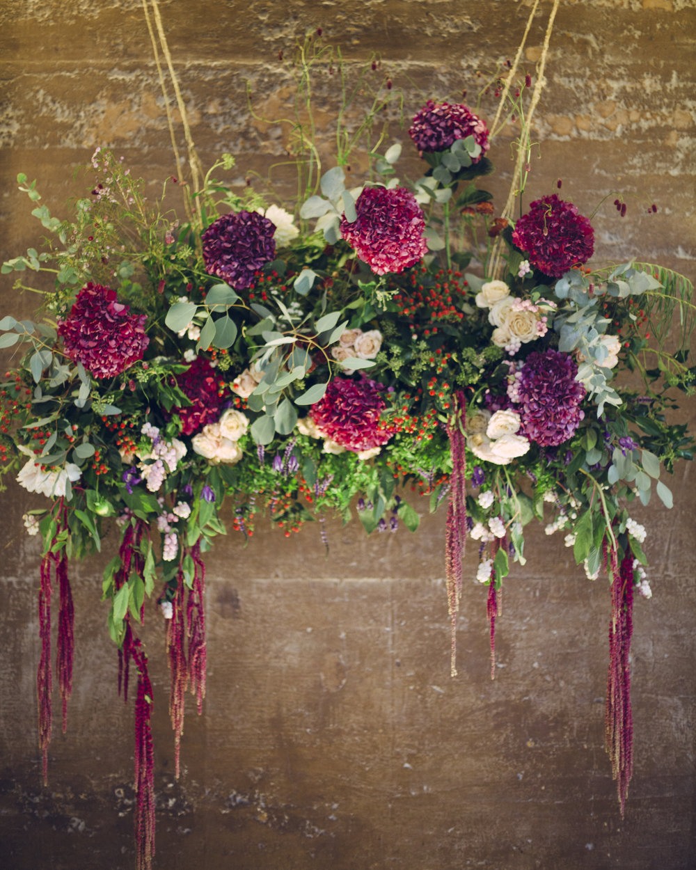 Installation for beautiful Autumn Wedding