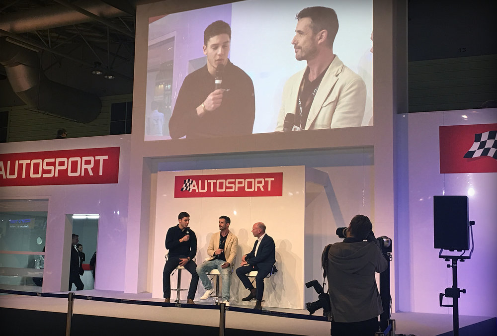 ELECTRIC GT'S AUTOSPORT INTERNATIONAL RECAP   It was an enjoyable debut at the Autosport Show for the Electric GT Championship, as exclusive announcements were made and the race-prepared Tesla Model S.