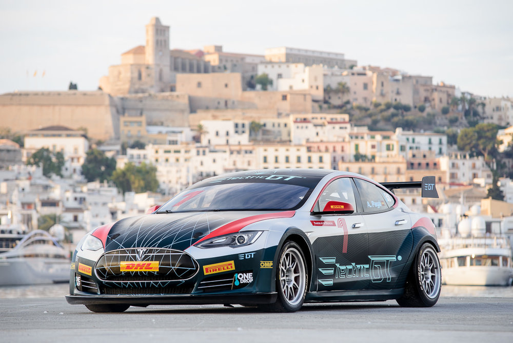 Presentation Electric GT in Ibiza