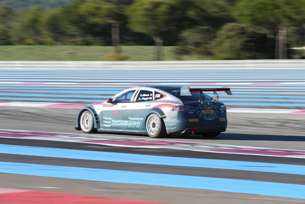 Test Paul Ricard with Heinz-Harald Frentzen