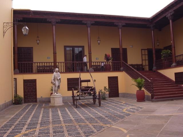 Traditional Trujillo Courtyard.