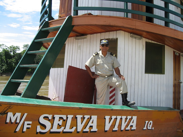 Captain of the Selva Viva