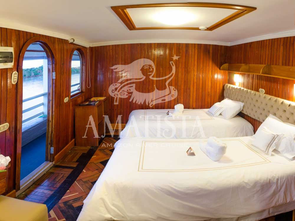 Amatista Twin Cabin