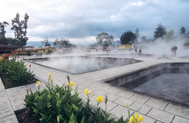 Inca Baths - Cajamarca