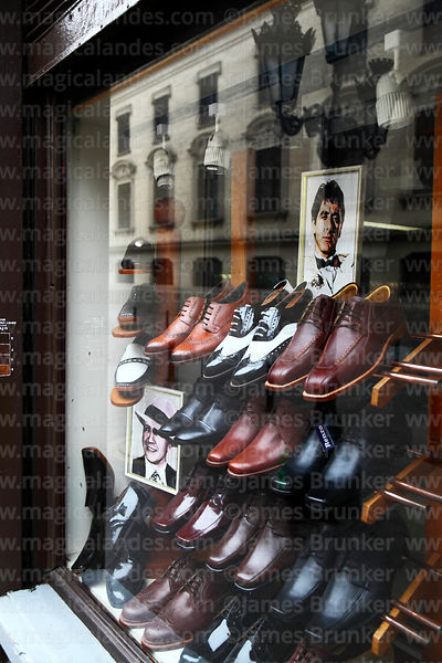Shoe Shop, Central Lima -  Photo © James Brunker, Magical Andes Photography