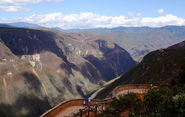 sonche canyon, chachapoyas