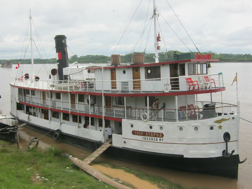 Ayapua - Museum of Historic Boats, Iquitos
