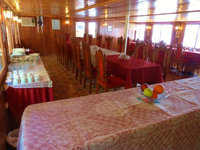 Rio Amazonas: Dining Room