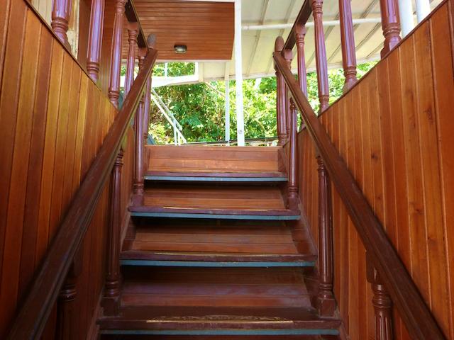 Rio Amazonas: Escalera