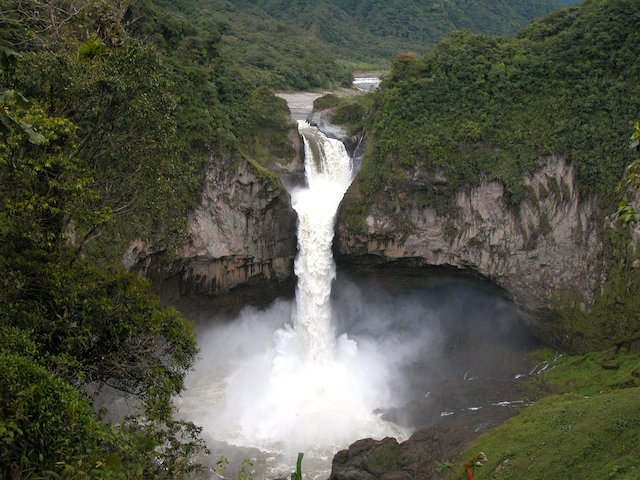 Amazon Rain Forest - Waterfall
