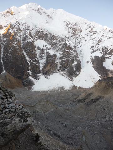 Salkantay Trek to Machu Picchu - Salkantay Morraine