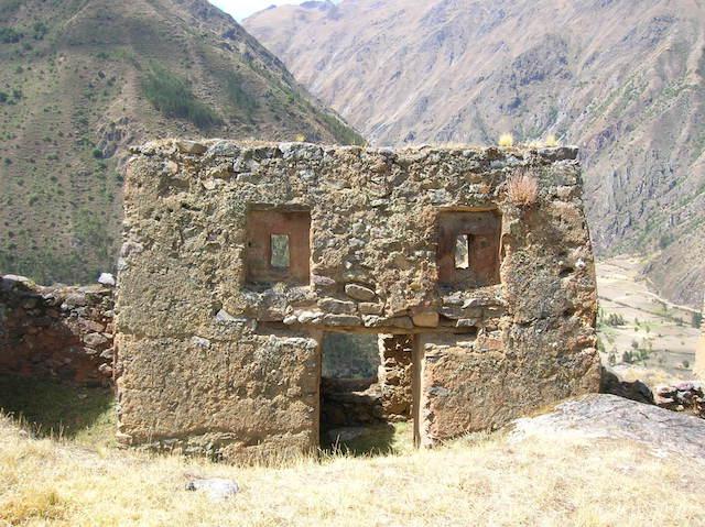 Pumamarca Inca Ruins.