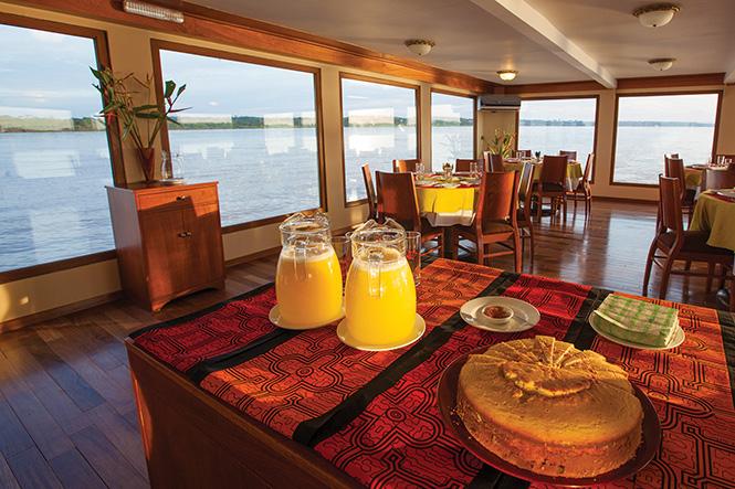 Estrella Amazonica: Dining Room