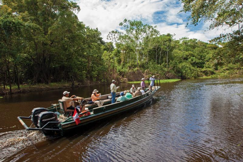 Estrella Amazonica: Expedition Skiff