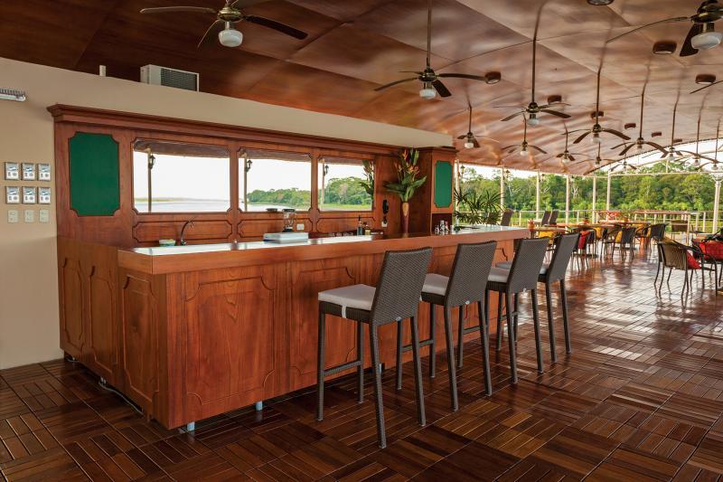 Estrella Amazonica: Sun Deck Bar