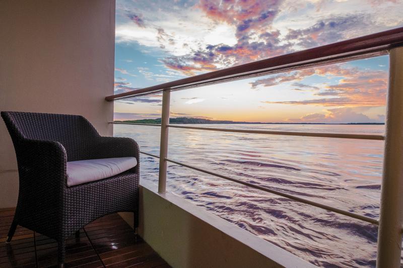 Estrella Amazonica: Private Balcony