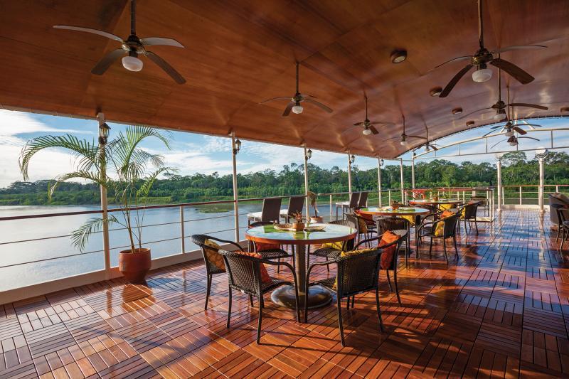 Estrella Amazonica: Sun Deck