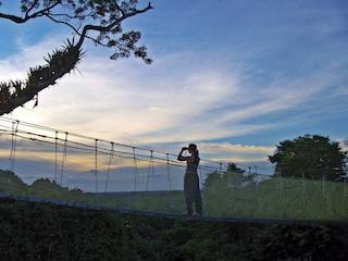Estrella Amazonica - Explorama Canopy Walkway - Sunset