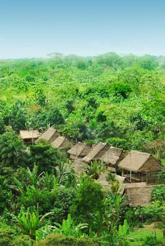Pacaya-Samiria - Miguel Grau Village