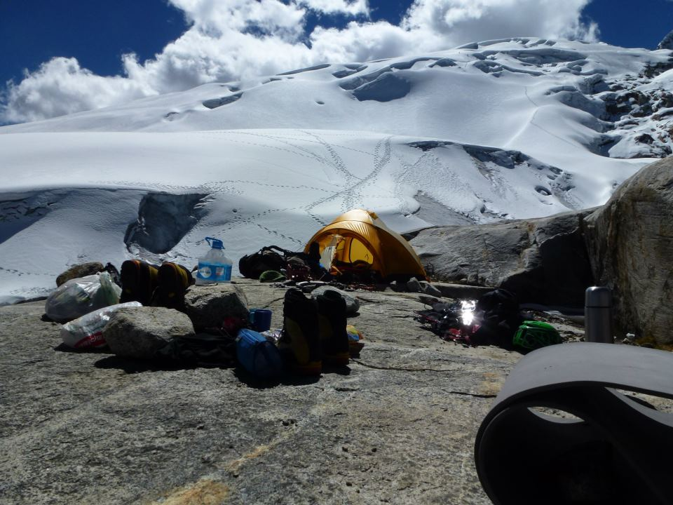 Vallunaraju, Huascaran National Park - Morena Base Camp