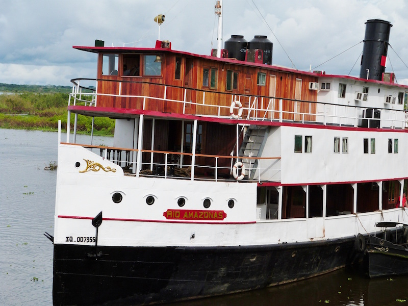 Rio Amazonas - Restored Amazon River Cruise Ship