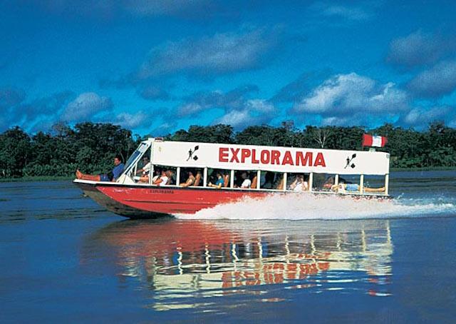 Ceiba Tops, Amazon River