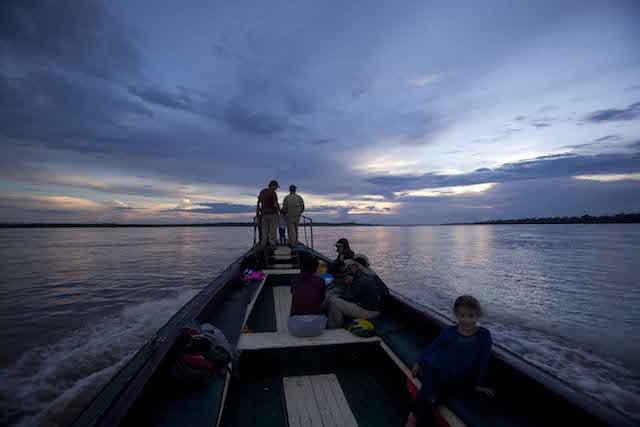 La Perla: Skiff Excursions