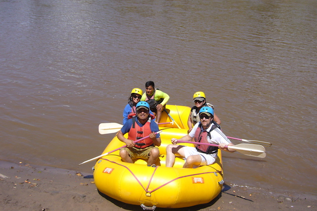 Tarapoto Adventure Excursions - Rafting - Start.JPG