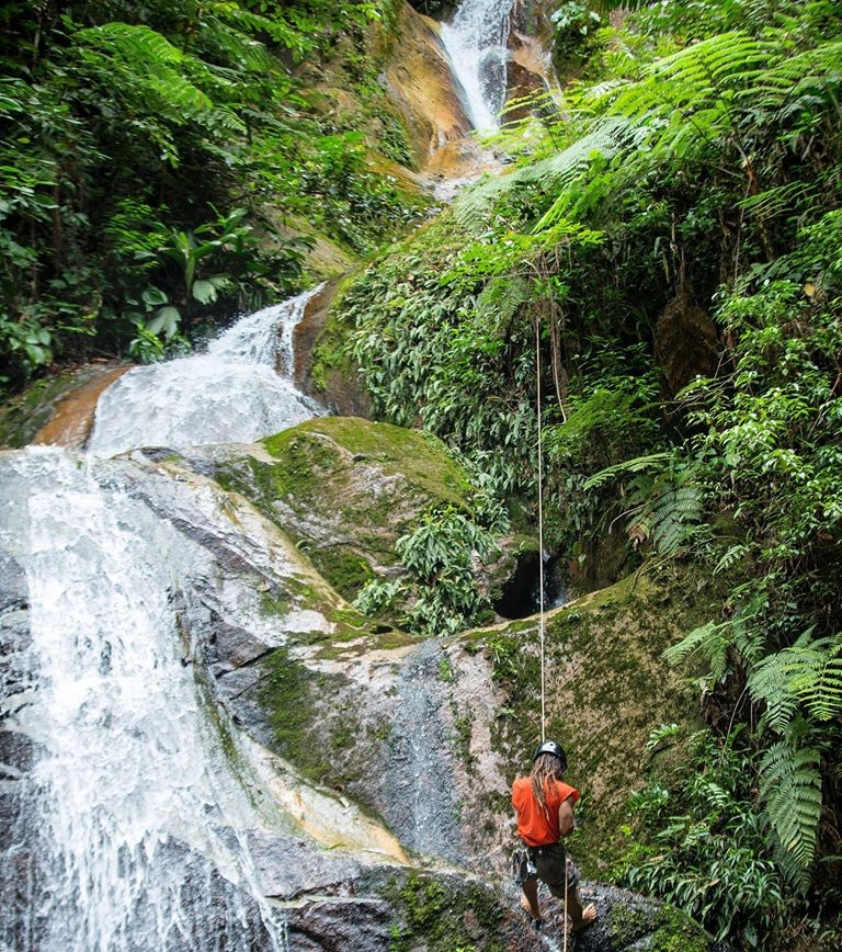 Tarapoto Adventure Excursions - Pucayaquillo Waterfall Abseiling - Descent.jpg