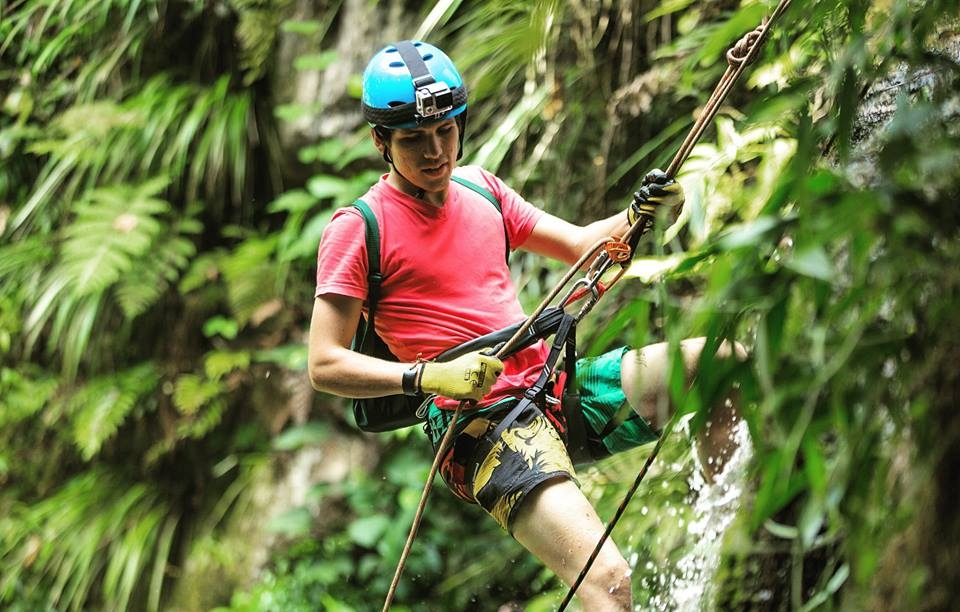 Tarapoto Adventure Excursions - Pucayaquillo Waterfall Abseiling - Equipment.jpg