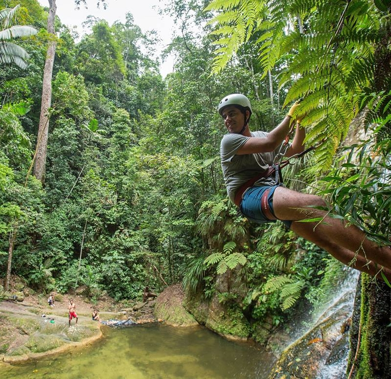 Tarapoto Adventure Excursions - Pucayaquillo Waterfall Abseiling - Pool.jpg