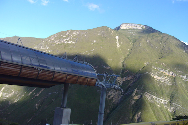 Kuelap Cable Car - Lower Station.JPG