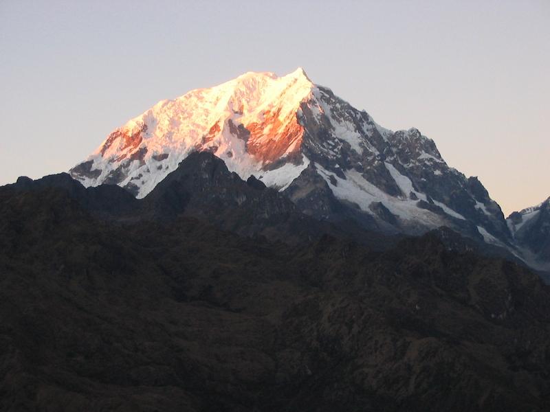 Inca Trail Extension - Salkantay from Phuyupatamarca.JPG