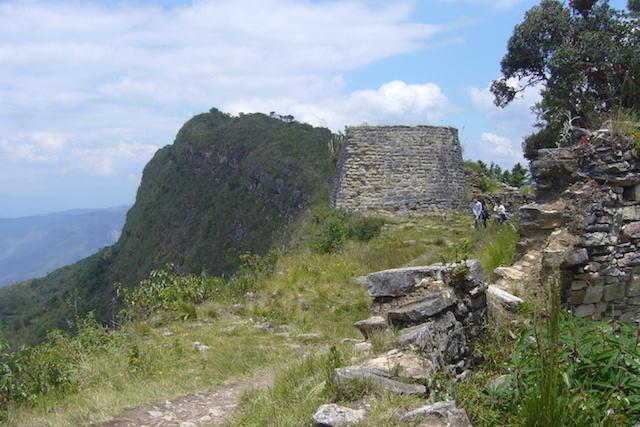 Kuelap Citadel, Chachapoyas - Torreon