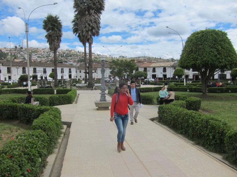 Chachapoyas, Amazonas - Plaza de Armas.jpg
