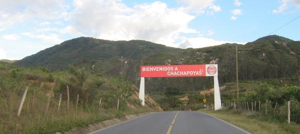 Chachapoyas, Amazonas - Welcome Sign.jpg