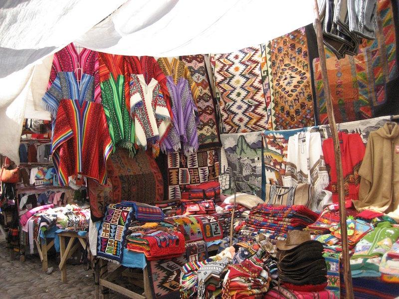 Low Altitude Machu Picchu - Pisac Market Textiles.jpg