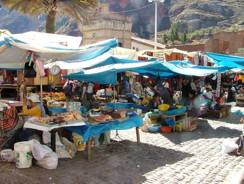 Low Altitude Machu Picchu - Pisac Market