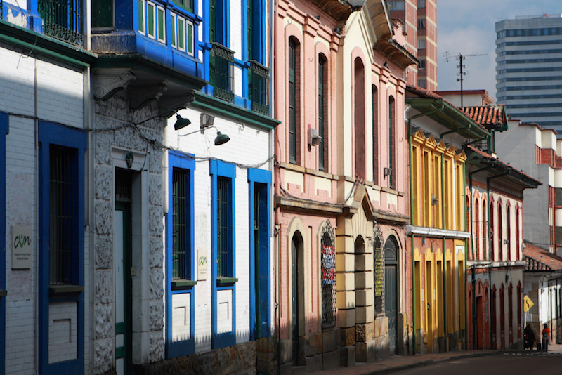 Colombian Highlights - Bogota - Typical Street.jpg