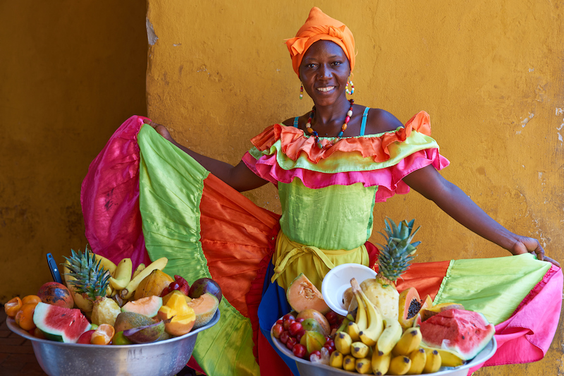 Colombian Highlights - Cartagena - Afro-Colombian Fruit Seller.jpg