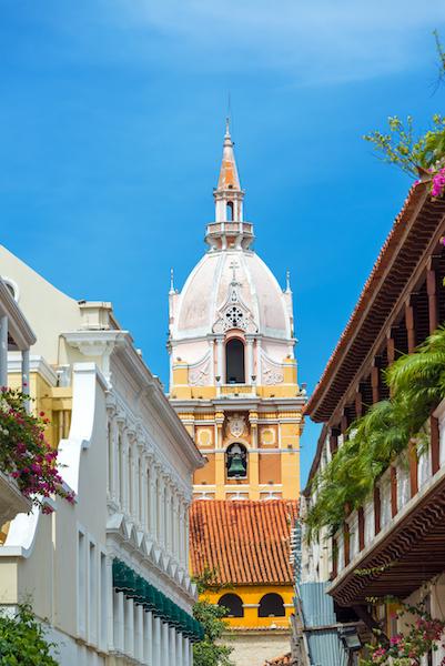 Colombian Highlights - Cartagena - Bell Tower.jpg