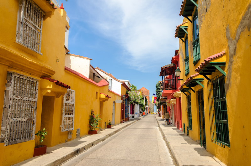 Colombian Highlights - Cartagena - Colonial Street.jpg