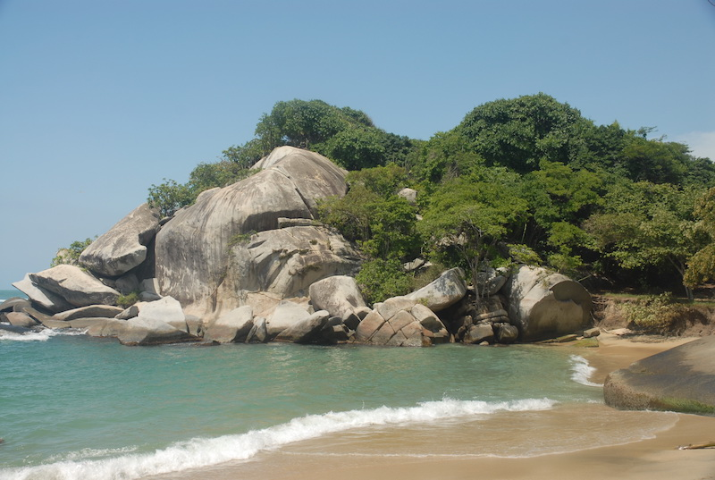 Colombian Highlights - Tayrona - Rocky Outcrop.jpg